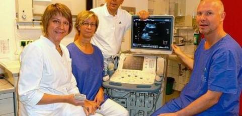 Diagnose von Tumoren einfach per Ultraschall